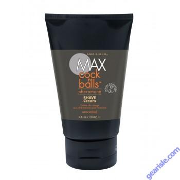 Shave Cream Cock N Balls Pheromone Max 4 Men