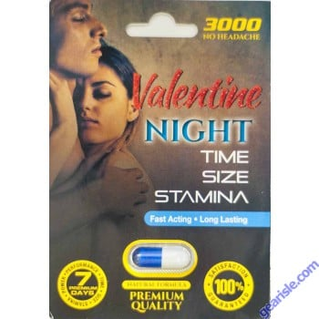 Valentine Night 3000 Premium Quality Sexual Enhancement Pill