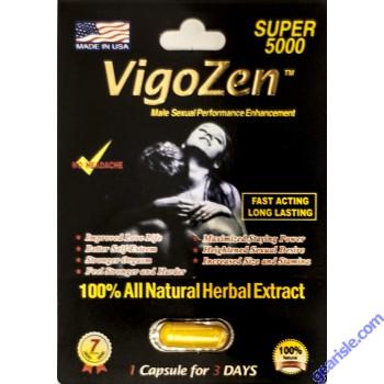 VigoZen Super 5000 Male Sexual Performance Enhancement