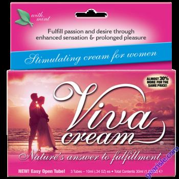 Viva Cream Sexual Performance Enhancer for Women