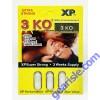3 KO White 1600mg Cartridge of 3 Pill Male Sexual Enhancer