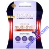 Trojan Multi Thrill 3 in 1 Vibrating Bullet Enhancer, Experience Pleasure