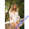 Kelly Bed Jacket Matching Panty Premiere FL1702