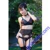 Gina Underwire Bra Garter Belt Panty Premiere FL1706