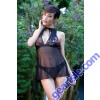 Lola Embroidery Babydoll Thong Panty Premiere FL1707