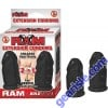 Ram Extension Condoms - Black For Deeper Penetrations