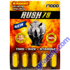 Rush 75 Gold 5 Pills Pack 17000 Male Enhancement Pill