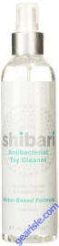 Shibari Water Based Antibacterial Toy Cleaner 8oz Spray Head